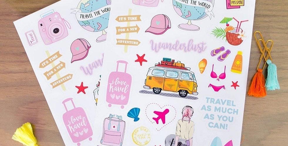 Plancha de stickers