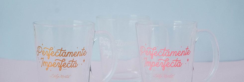 Taza de vidrio perfecta