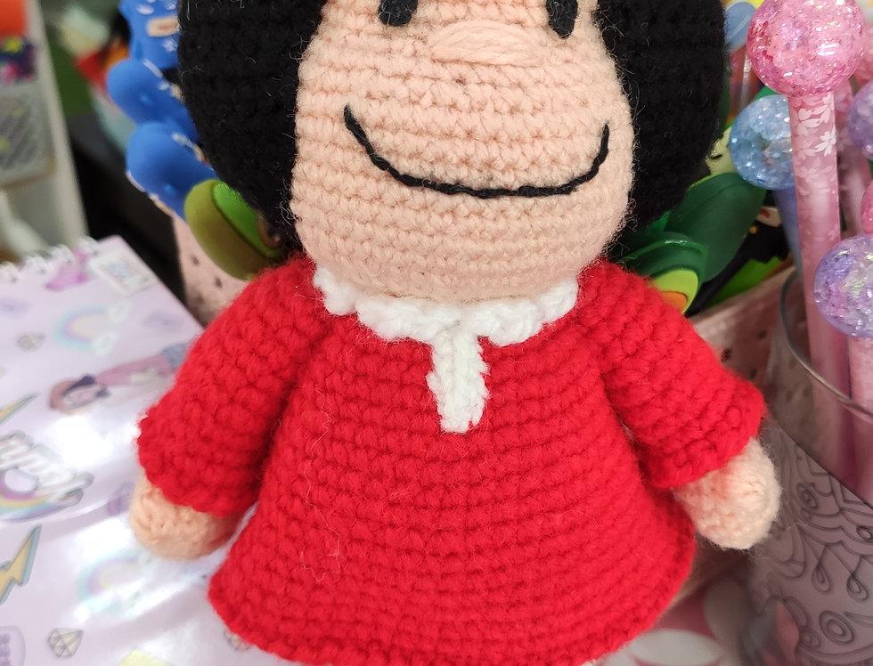 Mafalda de crochet