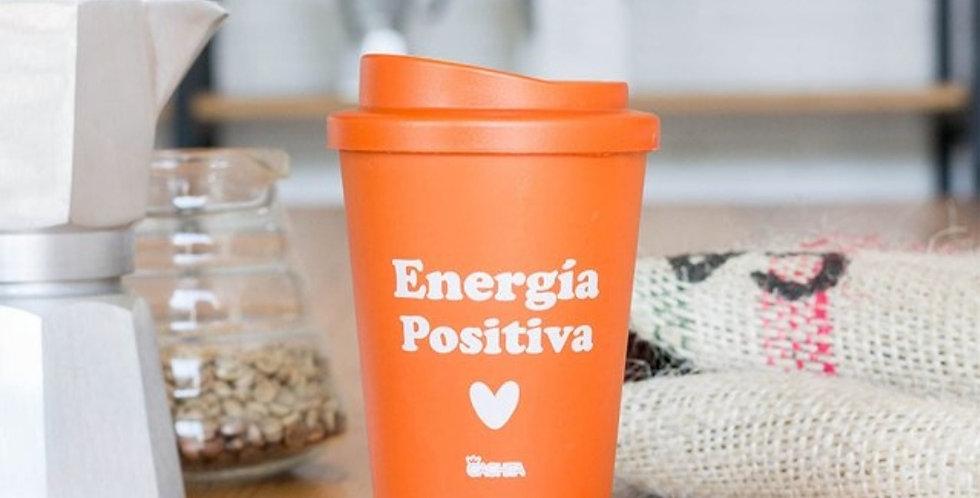 Vaso para café energía