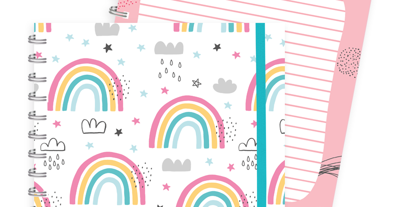 Cuaderno  arcoiris