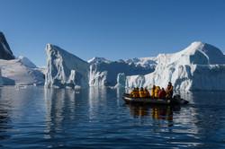 iceberg with zodiac