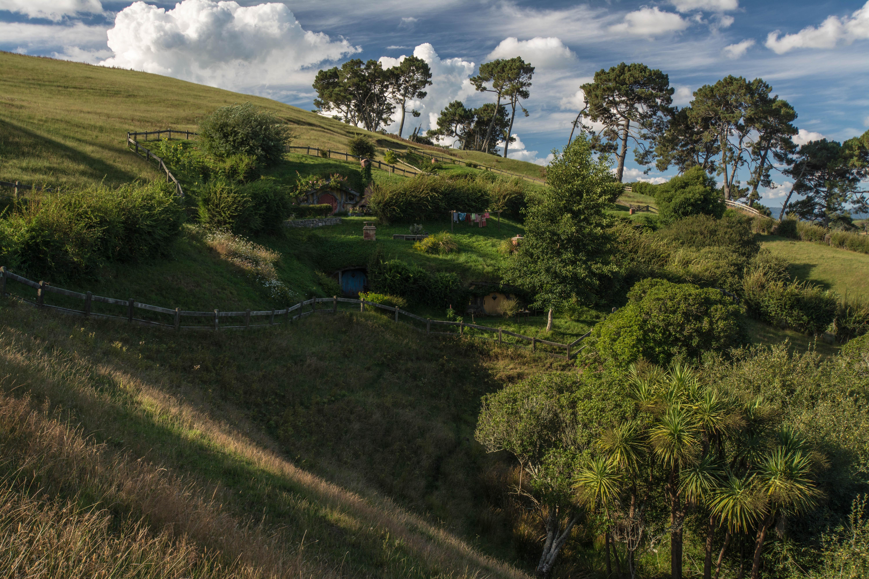 Hobbiton across the valley