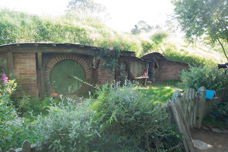 Hobbiton another green door