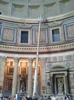 Illuminazione Pantheon, Roma