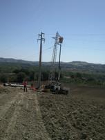 Rifacimento linea ex 60 Kv, Marche