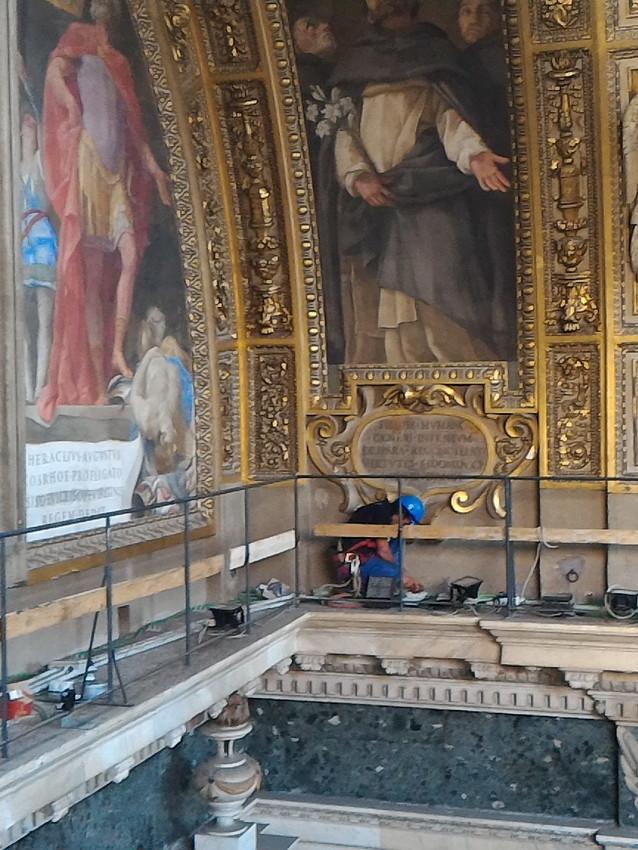 Illuminazione Basilica S.Maria Maggiore.