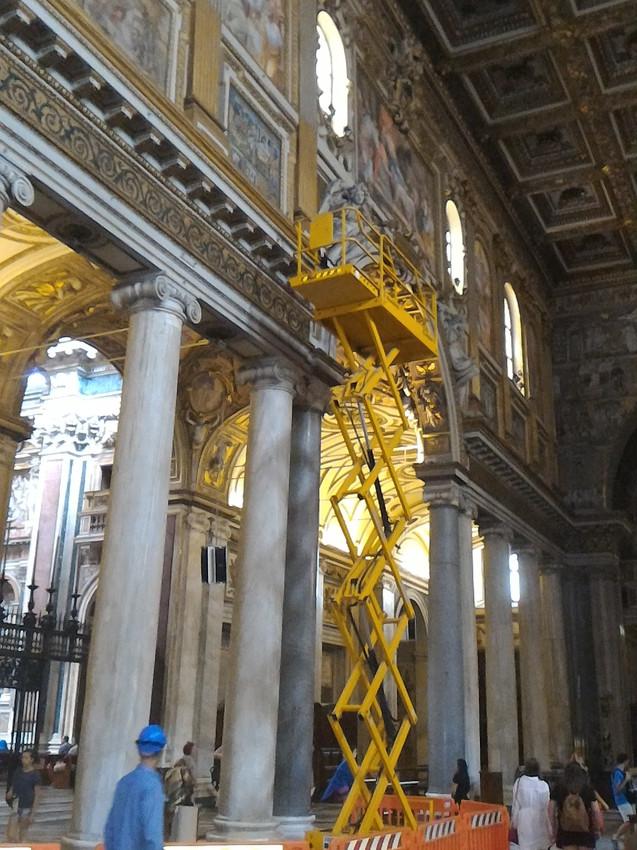 Illuminazione Basilica S.Maria Maggiore,