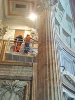 Illuminazione Pantheon