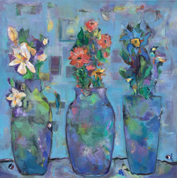"""Table for Three 30"""" x 30"""" Sold"""