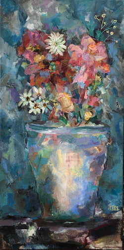 """Potted Glory 24"""" x 12"""""""