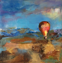"""Flying High 8"""" x 8"""" Sold"""