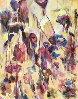"Field of Wildflowers 30"" x 24"" Sold"