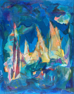 """With The Sea 30"""" x 24"""" Sold"""