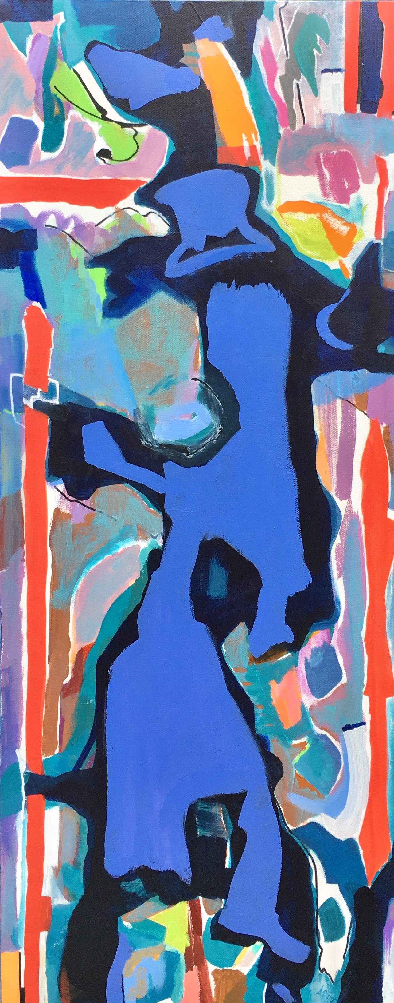 "Nightly Stroll 40"" x 16"""