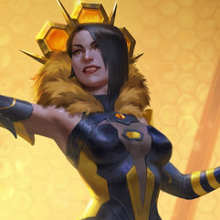 Nox Queen Bee Skin - SMITE