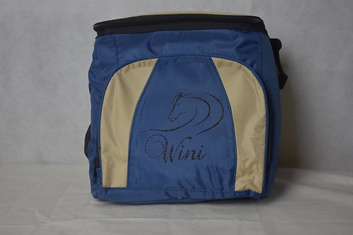 Lunch / Cooler Bag - Tan with Black logo