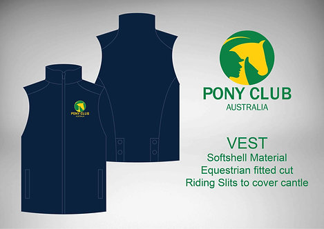 ADULTS PCA Riding Vest