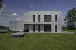 Markilux 3300 in Fassade integriert - @copyright Architektur & Design GmbH - Rudolf Berger