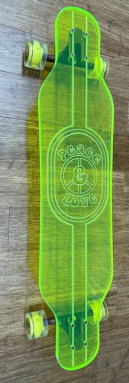 """Ghost """"Peace & Love"""" Longboard"""