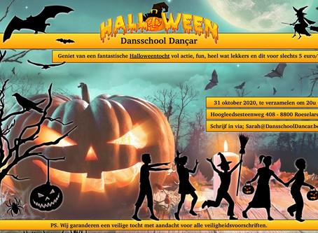 Halloweentocht 31 oktober 2020