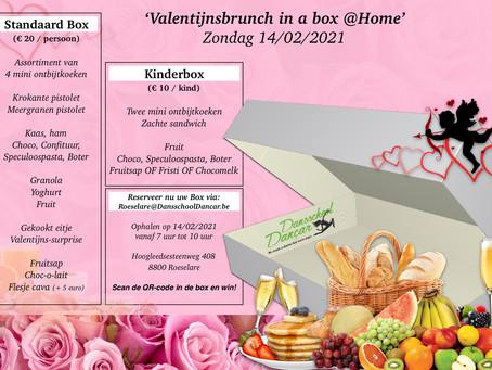 Valentijnsbrunch in a box @Home