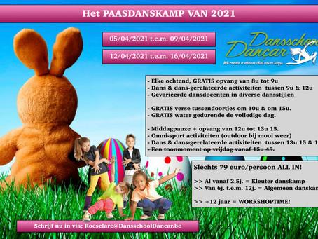 Dé Paasdanskampen 2021 bij Dansschool Dançar