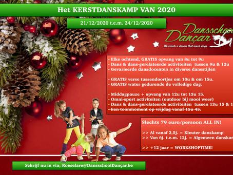 NIEUW! Kerstdanskamp