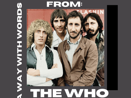 Top Five Songs From: The Who