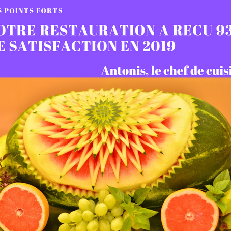 Indice restauration 2019