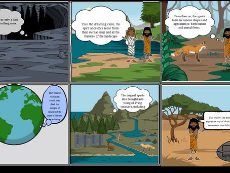 Storyboarding or tarot reading