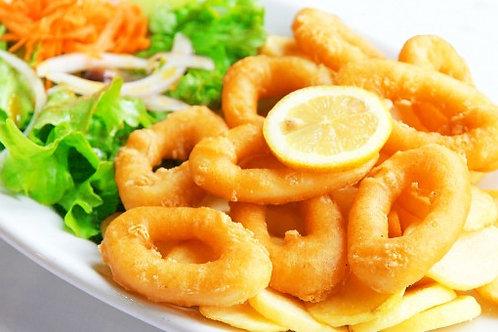 Dip Fried Calamares