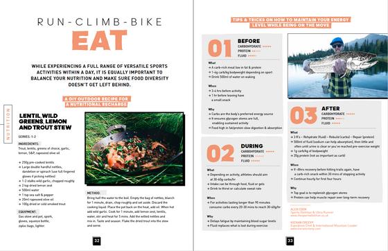 Run - Climb - Bike - EAT