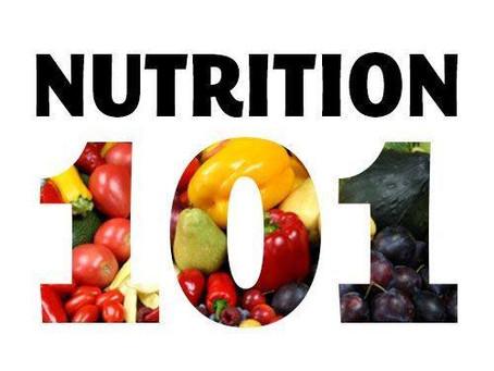 Nutrition 101: The Basics