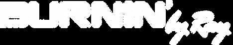 BurninByRay Logo TM - one color - white.