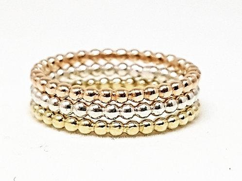 Gold Bead Ring