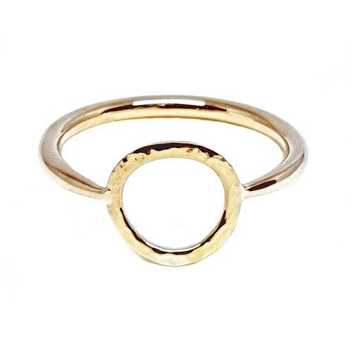 Golden Circle of Life Ring