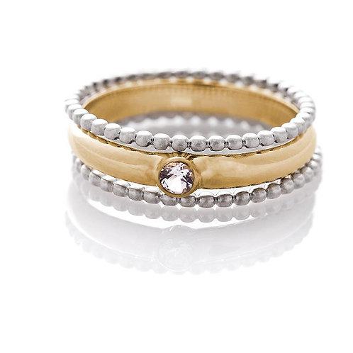 Three Piece Ring