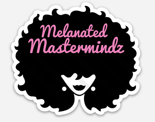 Melanated Mastermindz Decal