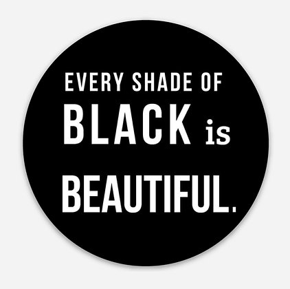 Black is Beautiful Decal