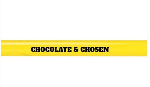Chocolate & Chosen Stationary