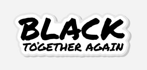 Black Together Again Lapel Pin
