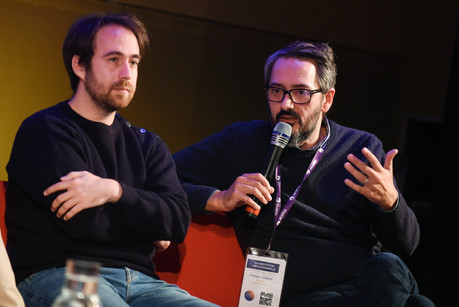 "Thomas Hercouët (Topito, ""Version Originale""), Frédéric Antelme (Deezer)"