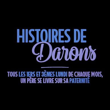 Fabrice FLORENT (40 ans, fondateur de madmoiZelle.com / créateur du podcast Histoires de Darons), Cédric (34 ans, papa depuis un an)