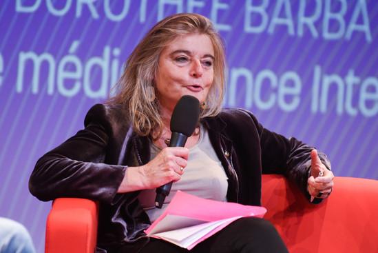Sandrine Treiner (France Culture)  - Partenaire du festival -