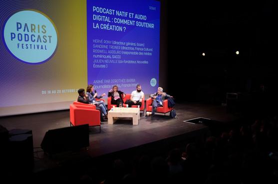 Débat : Podcast natif et audio digital : comment soutenir la création ?