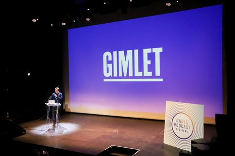 Masterclass : Matt Lieber (Gimlet Media)  Cérémonie d'ouverture, vendredi 18 octobre 2019