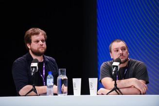 """Corentin Lamy (journaliste jeu vidéo, Le Monde), Siegfried Thouvenot (""""L'apéro du Captain"""")  Enregistrement public : Le rendez-vous tech"""