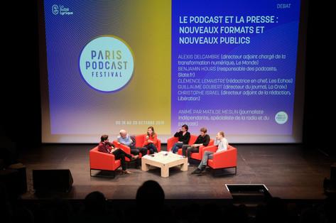 Débat : Le podcast et la presse, nouveaux formats et nouveaux publics