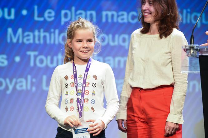 Nina, du jury d'enfants du Prix Bayam du Podcast Jeunesse